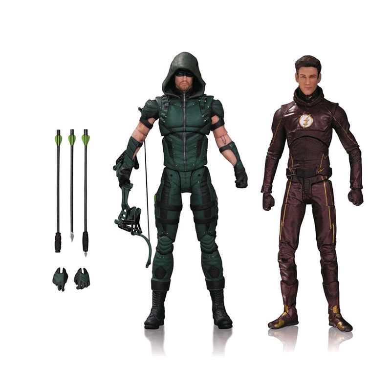 DC Collectibles Arrow - Arrow & Flash Action Figure 2 Pack