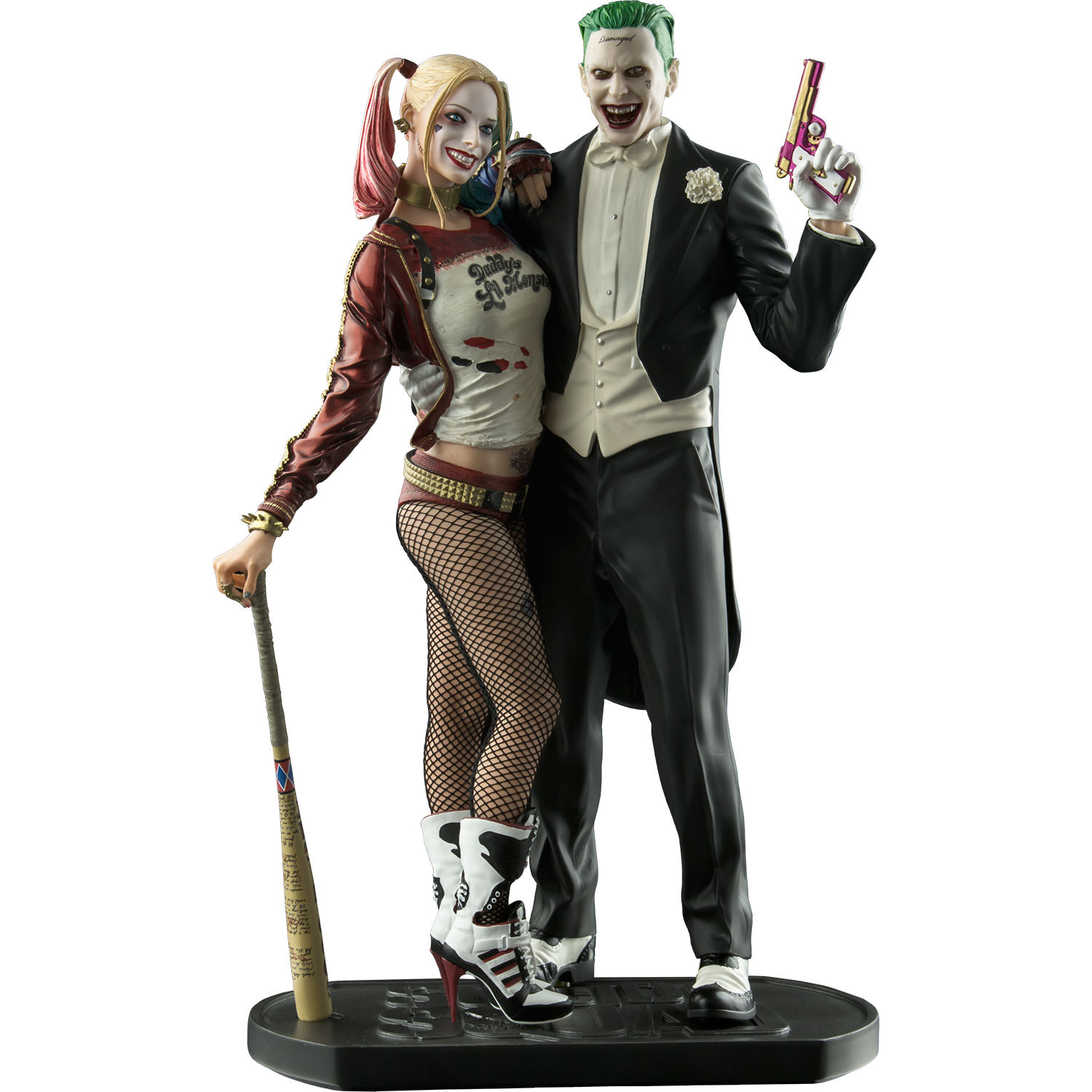 "DC Collectibles Suicide Squad - The Joker & Harley Quinn 12"" Statue"