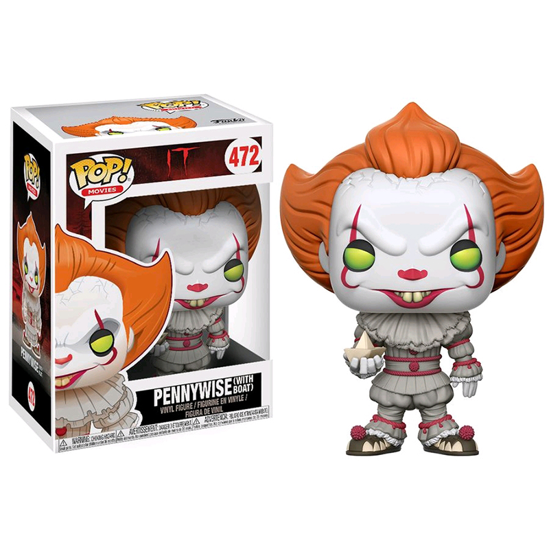 Funko It (2017) - Pennywise with Boat Pop! Vinyl Figure