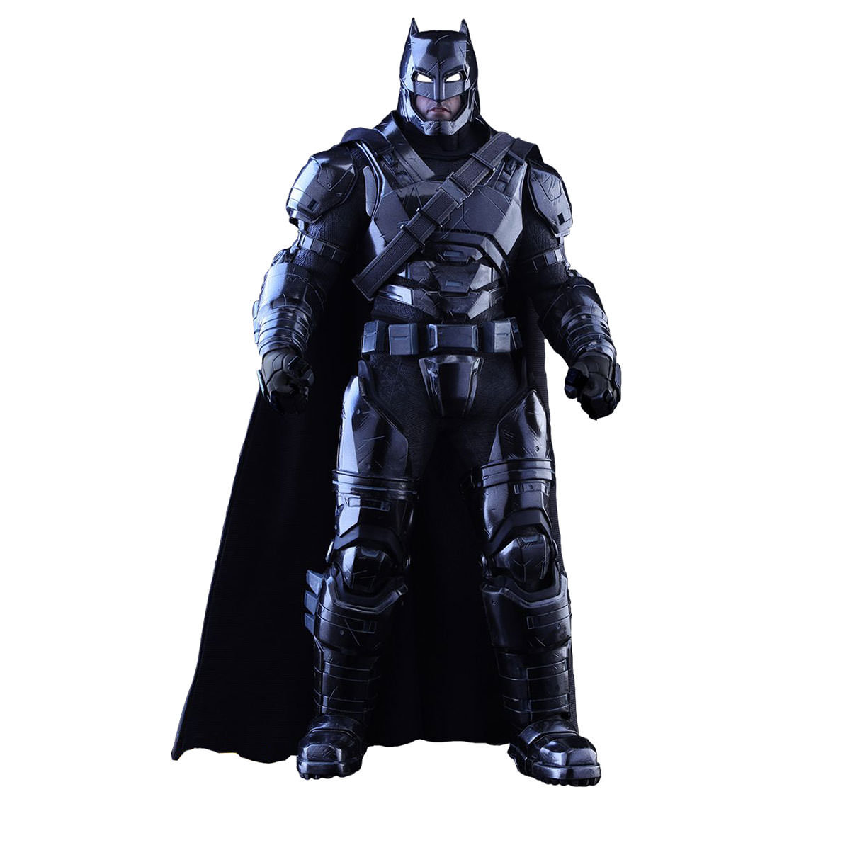 Hot Toys Batman vs Superman - Armored Batman (Black Chrome Version) 1/6th Scale Collectible Figure