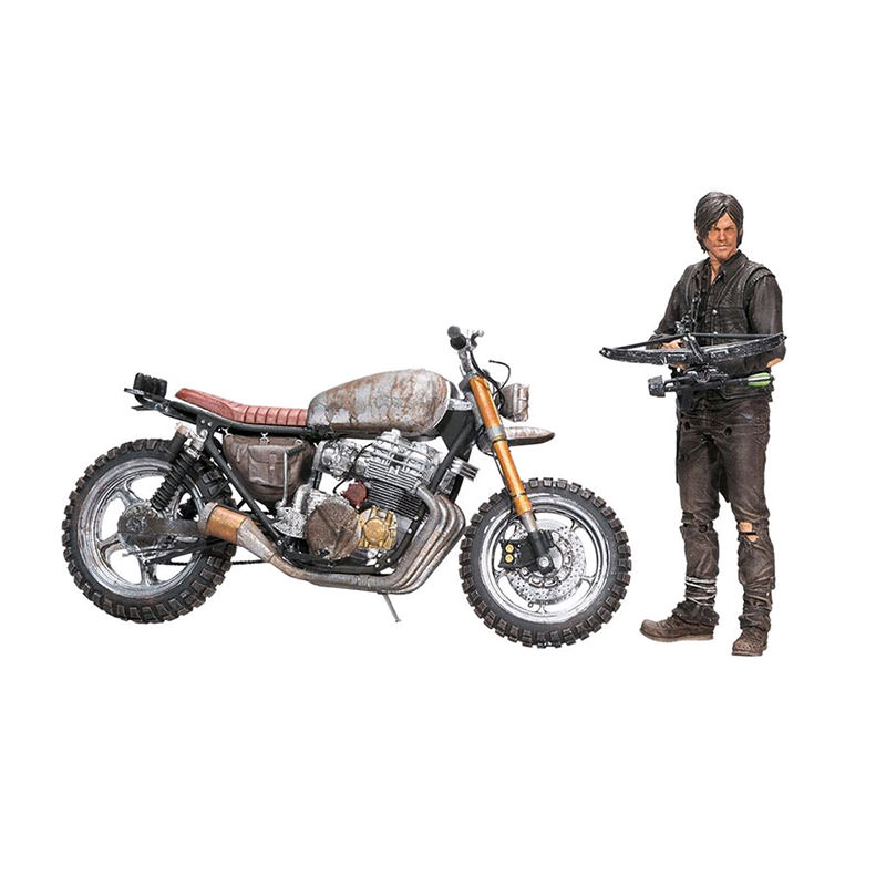 McFarlane Toys AMC The Walking Dead - Daryl with New Bike Deluxe Boxed Set