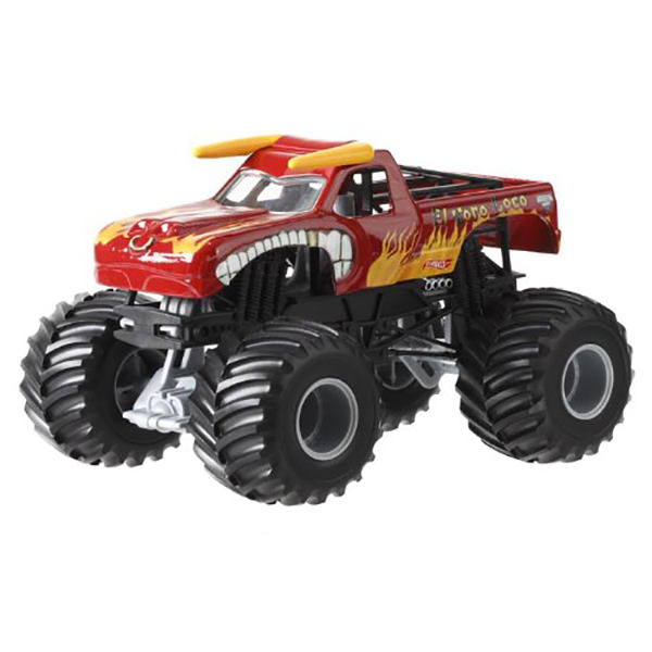 Hot Wheels Monster Jam 1:24 Die-Cast - El Toro Loco Red