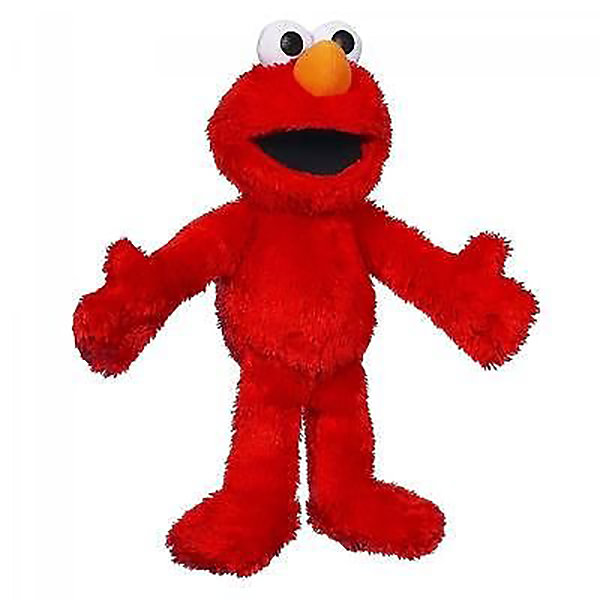 Playskool Sesame Street Pals Let's Cuddle Elmo Plush Figure