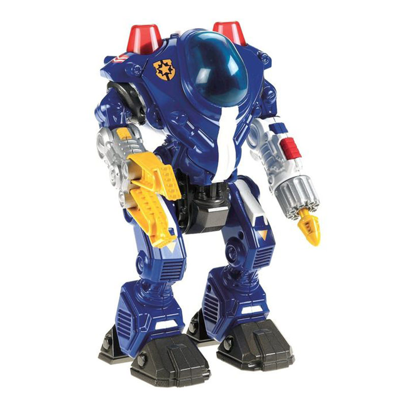Fisher Price Imaginext Police Robot Action Figure Toy