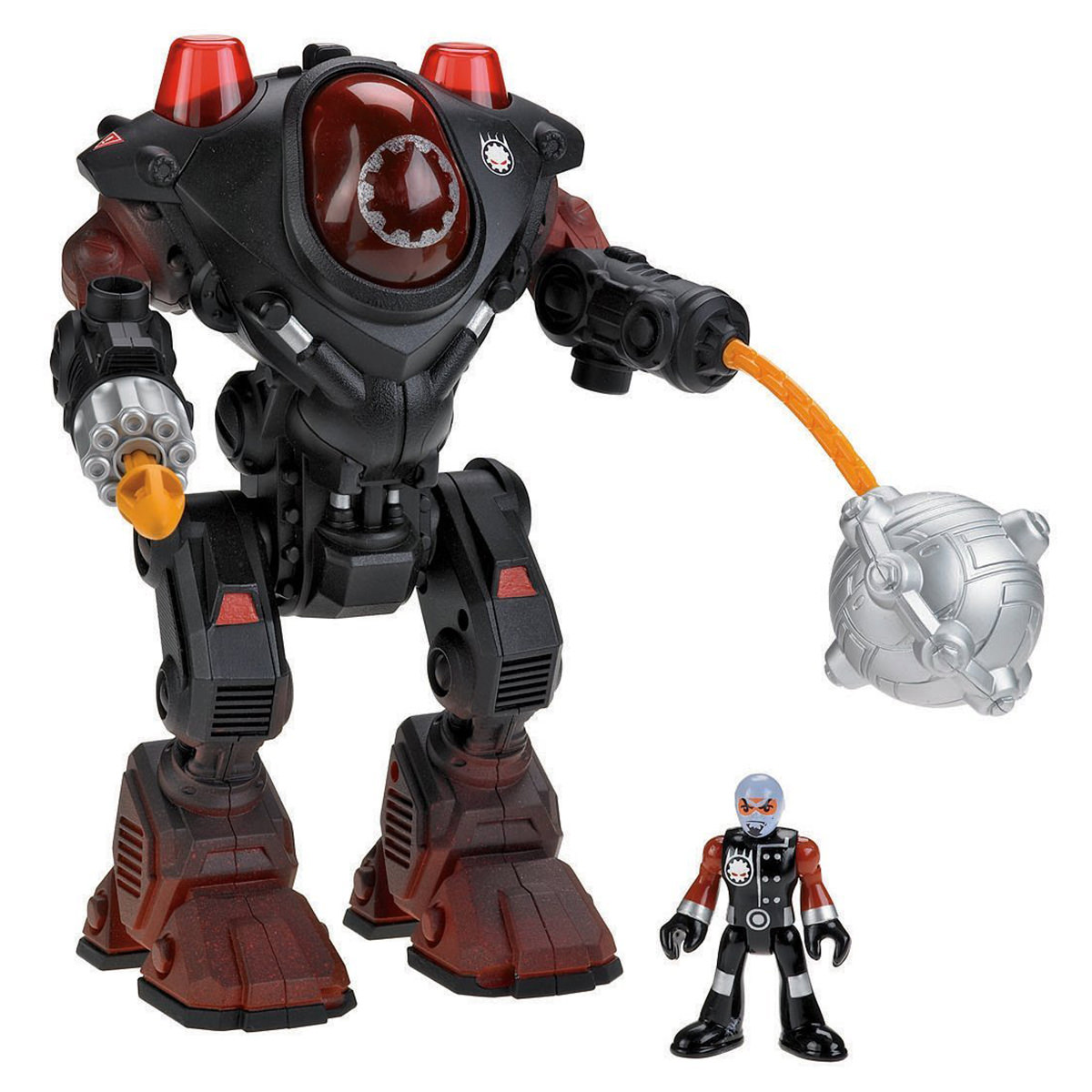 Fisher Price Imaginext Villain Robot Action Figure Toy